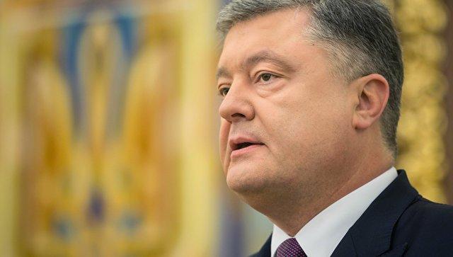 Порошенко прокомментировал заявление президента Чехии по поводу Крыма