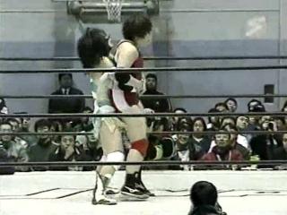 Alexander Otsuka, Azumi Hyuga, Hikari Fukuoka vs. Dynamite Kansai, Maya Hashimoto, Mohammed Yone (BattlartsJWP - KAQ Tournament)