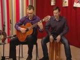 Томская школа гитары - Santa Cafe (Acoustic Alchemy cover)
