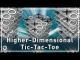 Higher Dimensional Tic-Tac-Toe  Infinite Series