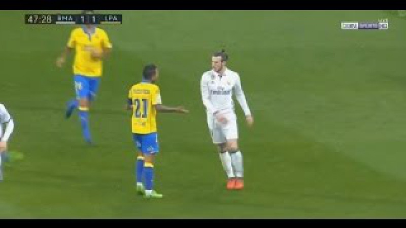 Gareth Bale Red Card - Real Madrid vs Las Palmas