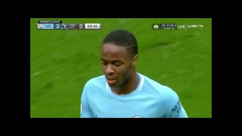 Raheem Sterling vs Crystal Palace (23-09-2017) Home