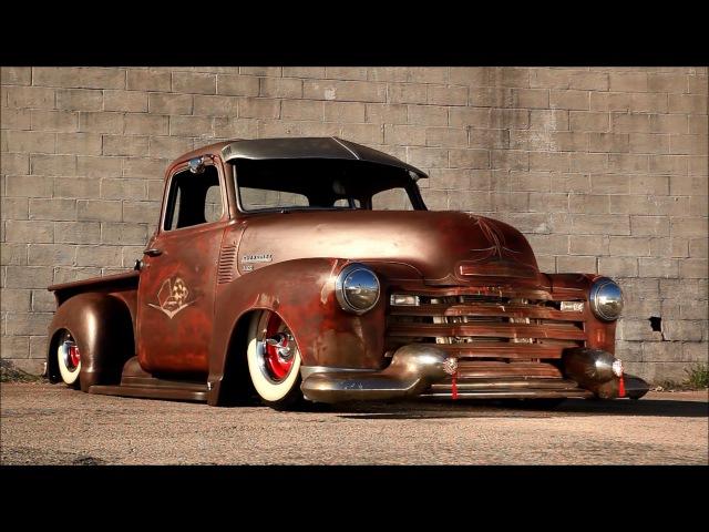 Dirty Diablo Slammed Hot Rat Street Rod Patina Shop Truck @HotRodDirty