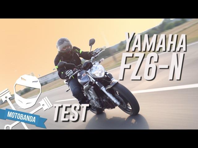 Świetny i nowoczesny motocykl do codziennej jazdy? Yamaha FZ6n 2004 2009 Test