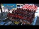Самое страшное в мире Griffon Буш Гарденс Уильямсберг, США