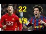22 Year Old Messi vs 22 Year old Cristiano Ronaldo ► Try Not To Be Amazed