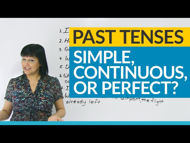 Learn English Tenses: Past Simple, Past Continuous, Past Perfect, or Present Perfect?