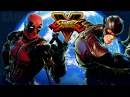 Street Fighter 5 - Deadpool vs The Flash (Marvel vs DC) Gameplay PC Mods @ 1080p (60fps) HD ✔