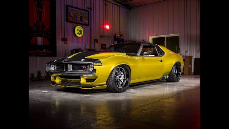 Ringbrothers Unveil AMC Javelin at 2017 SEMA Show