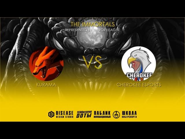 Wild Card   Kurama vs Cherokee eSports l Bo1