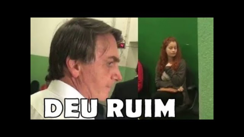 Não ficou barato Bolsonaro leva militante do PCdoB que o agrediu na polícia