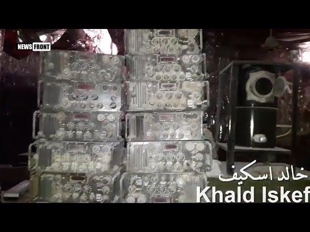 Сирийская армия обнаружила секретную базу спутникового вещания боевиков в Аль ...