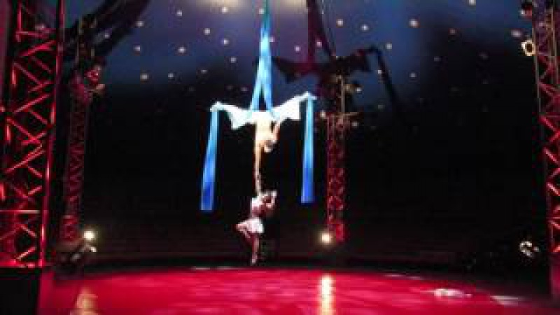 Aerial silks duo - Tela Marinera