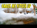 Русская баня. Купание в проруби. Катание на коньках. Russian sauna. Bathing in the ice-hole. Skating