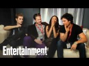 Vampire Diaries Cast Interview with Michael Ausiello Part 1 Entertainment Weekly