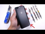 OnePlus 5 Durability Test! Scratch - Burn - BEND Tested