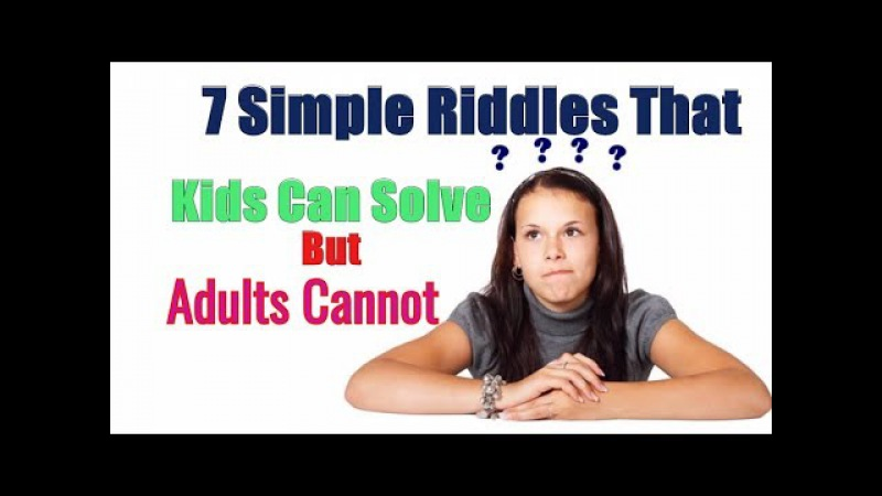 7 Simple Riddles That Most People Can't Solve