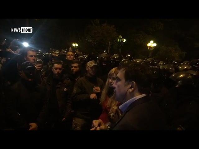 Напор полиции на охрану палаточного городка напугал майданщиков