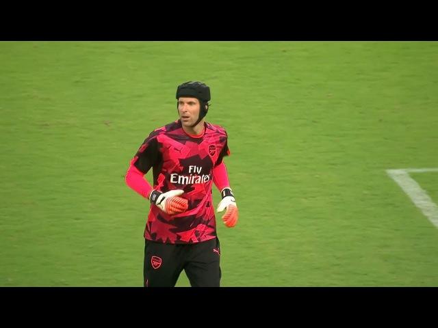Petr Cech Vs Bayern Munich Neutral International Champions Cup 2017 HD 720p