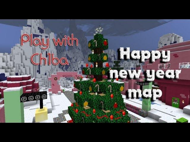 Play with Ch1ba - Minecraft - Новогодняя карта от IgrokXD