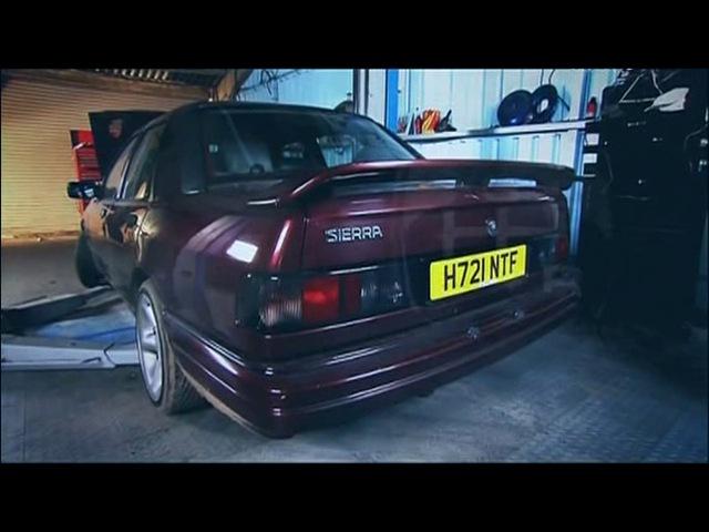 Махинаторы 7 сезон 2 серия Ford Sierra Sapphire RS Cosworth