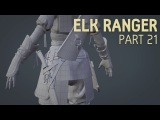 Elk Ranger Creation Part 21  Knife + Quiver Topology