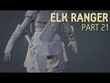 Elk Ranger Creation Part 21 Knife + Quiver Topology