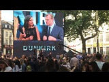 Star-studded premiere for Christopher Nolans Dunkirk