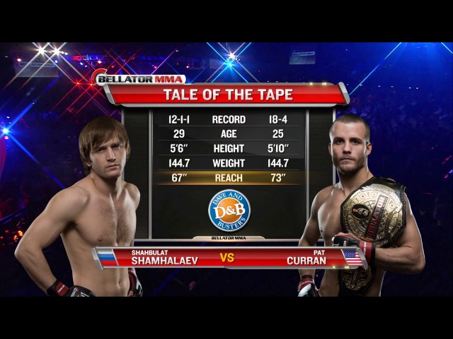 Bellator 95: Pat Curran vs. Shahbulat Shamhalaev - FULL FIGHT
