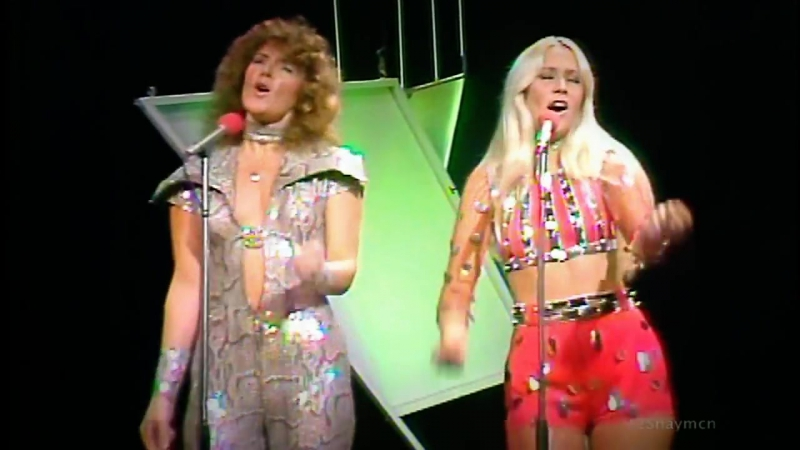 ABBA _ Ring Ring (Tommy Cooper Show 1974 ) HQ