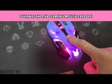 Overwatch D.va Gaming Mouse
