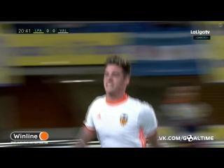 Лас-Пальмас - Валенсия 0:1. Санти Мина
