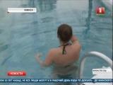Крещенское купание в Спорткомплексе