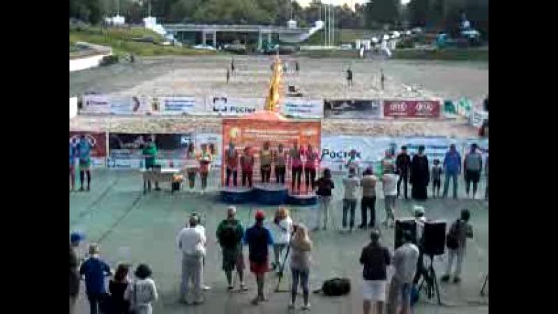 волейбол награждение среди женских команд
