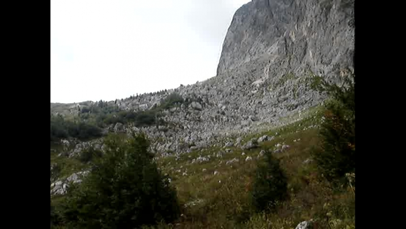 Краснодарский край Респ Адыгея Дорога к Фишту Сентябрь 2012г