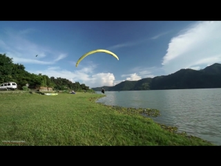 Extreme acrobatic paragliding - Nepal Acro Team - People are awesome - Extreme sports Gopro 2016