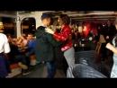 На ночном пароходике СПБ Нева Друзья Развод мостов Сальса ч 1