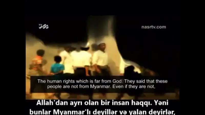 Imam Khamenei Myanmada baş verən hadisələr haqqında