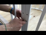 Инструкция по сборке: круглая (овальная) кроватка-трансформер