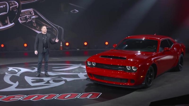2018 Dodge Challenger SRT Demon Reveal