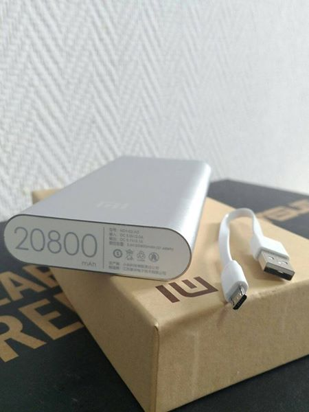 Портативний зовнішній акумулятор Xiaomi 20800 mAh. Робочі характеристи