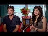 13.05.2017 - BAYWATCH EXCLUSIVE- Zac Efron and Alexandra Daddario