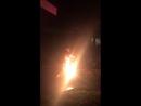 Огненное шоу в Meryan