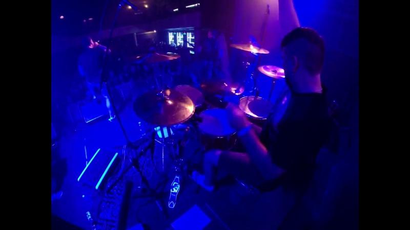 Totem - Быть Собой, Молитва live (Vint drumcam)