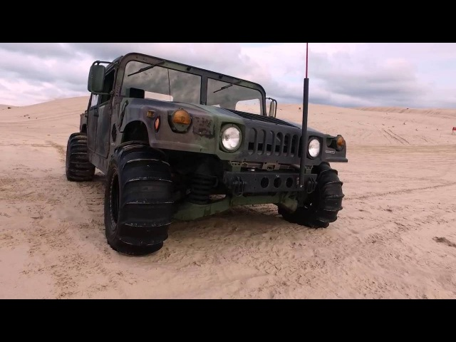 Discovery Channel: The World's Fastest Humvee - Mil-Spec Automotive at Silver Lake Sand Dunes