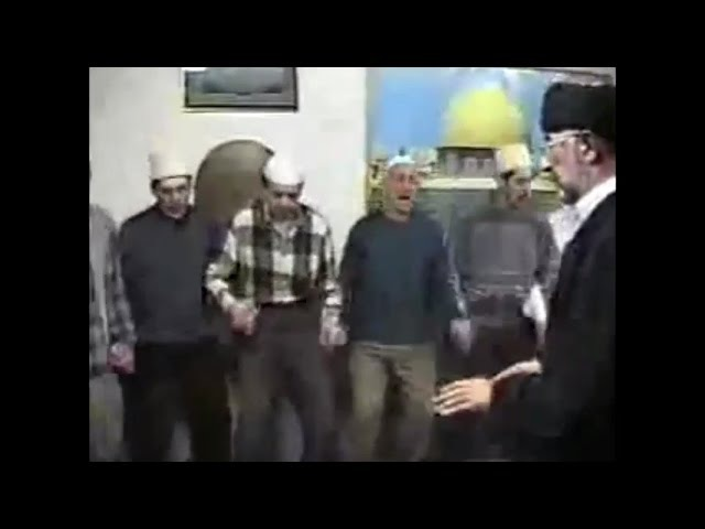 Derviški zikr 1996 Rahmetli šejh Mesud ef Hadžimejlić