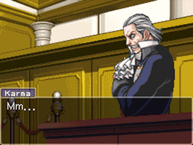 Von Karma Cornered w Jatello's Arranged Music Phoenix Wright Ace Attorney