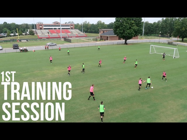 Inside Preseason - Division 1 Men's Soccer Training Session Breakdown