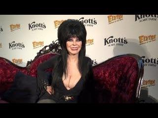 Elvira: Mistress of the Dark (Cassandra Peterson) Interview at Knott's Scary Farm Halloween Preview
