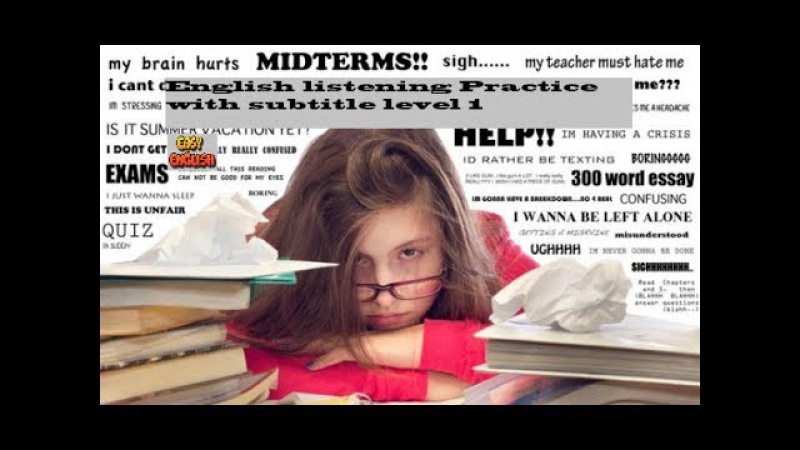 English listening Practice with subtitle part 1 -Learn English conversation